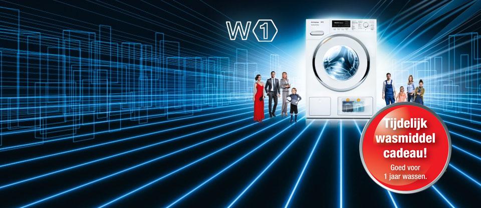 nieuws miele w1 wasmachines tijdelijk 1 jaar gratis wasmiddel. Black Bedroom Furniture Sets. Home Design Ideas