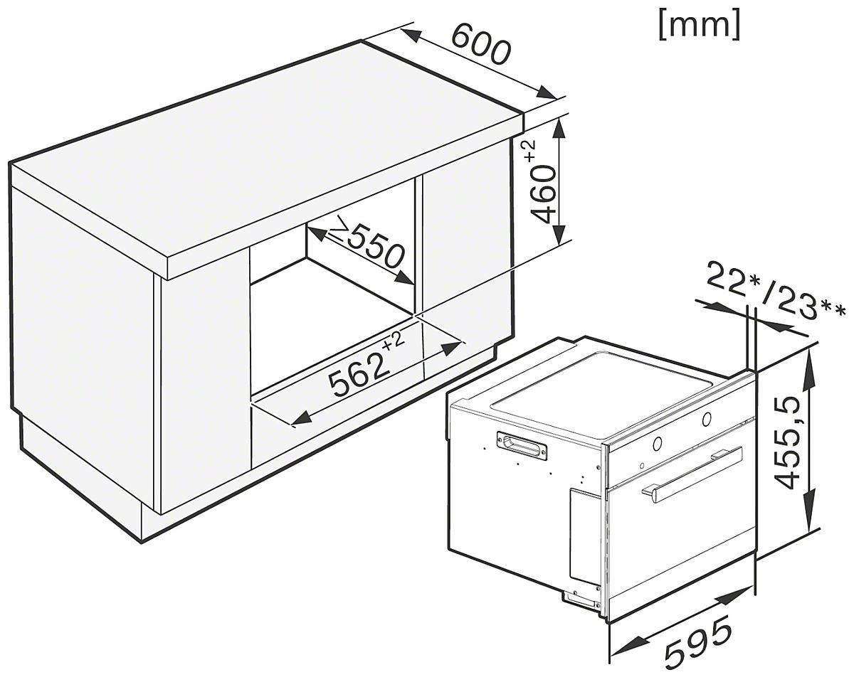 miele magnetrons m 6260 tc inbouwmagnetron. Black Bedroom Furniture Sets. Home Design Ideas