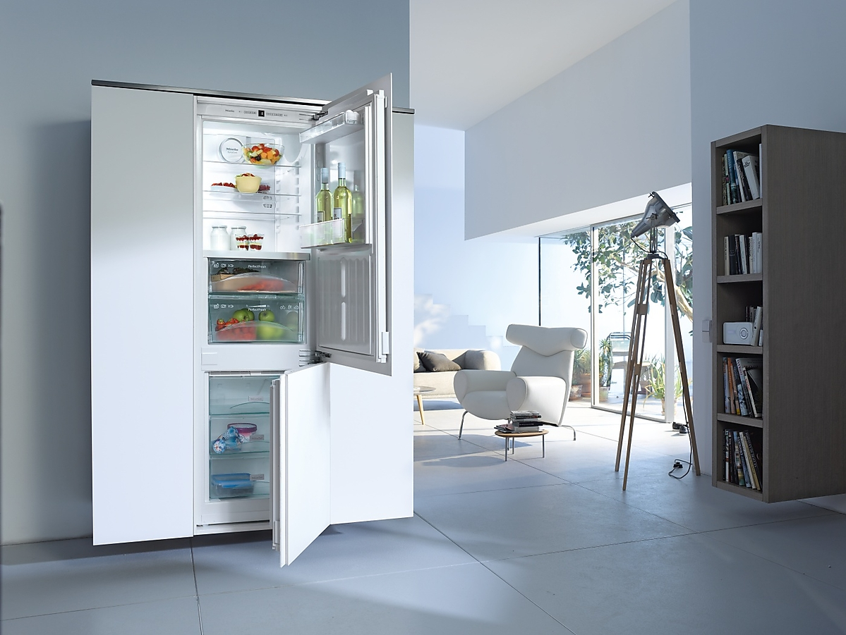 miele kfn 37282 id integreerbare koel diepvriescombinatie. Black Bedroom Furniture Sets. Home Design Ideas