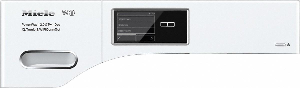 miele wmv963 wps pwash 2 0 tdos xl tronic wifi w1 wasmachine voorlader. Black Bedroom Furniture Sets. Home Design Ideas